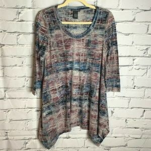 😊 Chelsea & Theodore Tunic Top Size Small Shirt